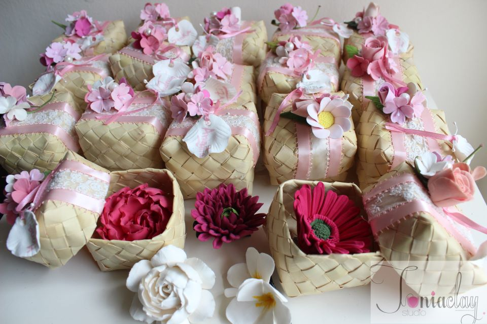 Nature wrapped – Baby Announcement Boxes